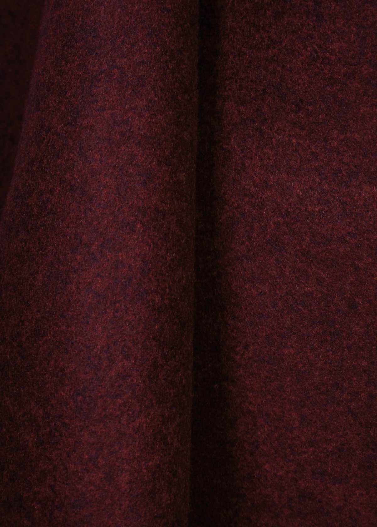 Flauš akryl vlna melange červený  FLW červmel    Galantéria PONČÍK ... 5bf55b90a54